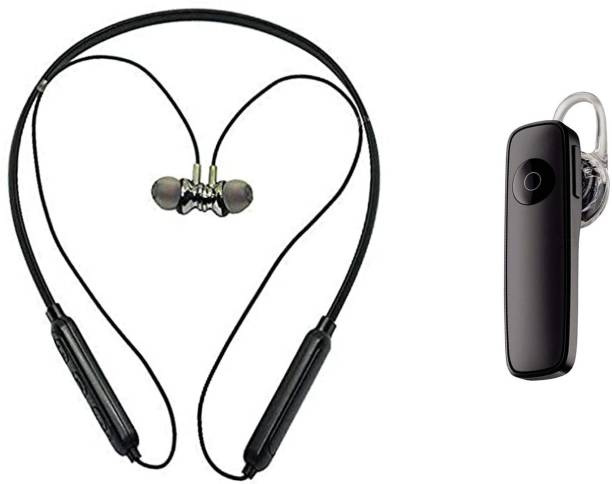 digilex COMBO HP17 Magnetic Neckband With Single Ear Wireless Bluetooth Bluetooth Headset