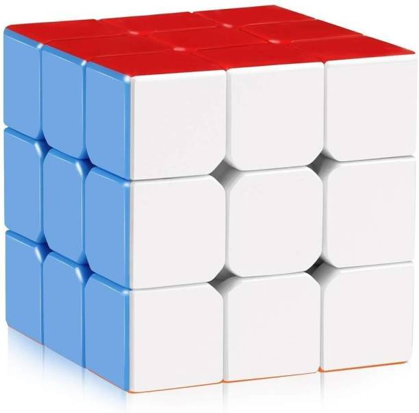 Trade Globe Premium Stickerless - 3X3X3 Speed Cube, Multi Color
