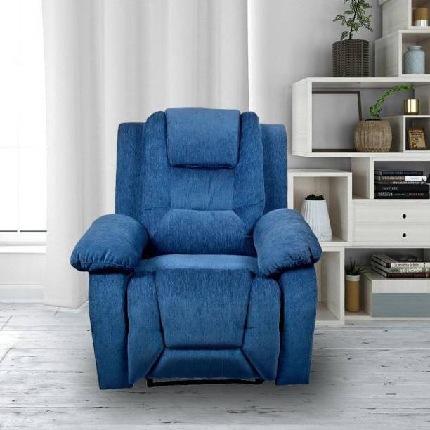 The Couch Cell Fabric Manual Recliner