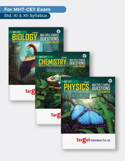 MHT-CET Triumph Physics, Chemistry And Biology (PCB) MCQ Books Combo For Pharmacy Entrance Exam   Based On Relevant Chapters Of 11th And 12th Syllabus Of Maharashtra State Board   3 Books