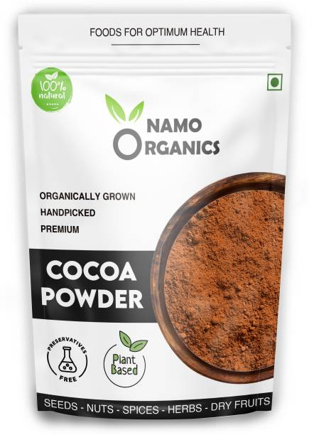 Namo organics Organic 200 Gm COCOCA POWDER for Chocolate cake Baking ( Natural Unsweetened ) Cocoa Powder