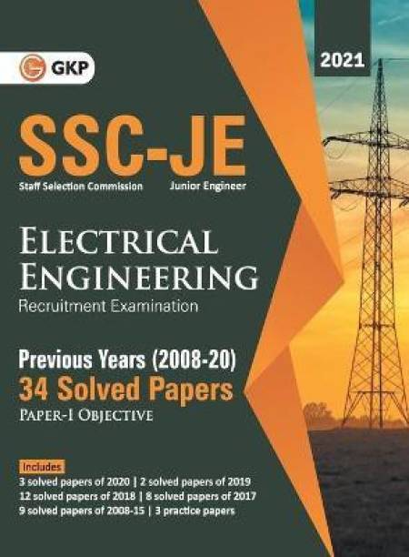 Ssc 2021 Junior Engineers Paper I Electrical Engineering 34 Previous Years Solved Papers (2008-20)
