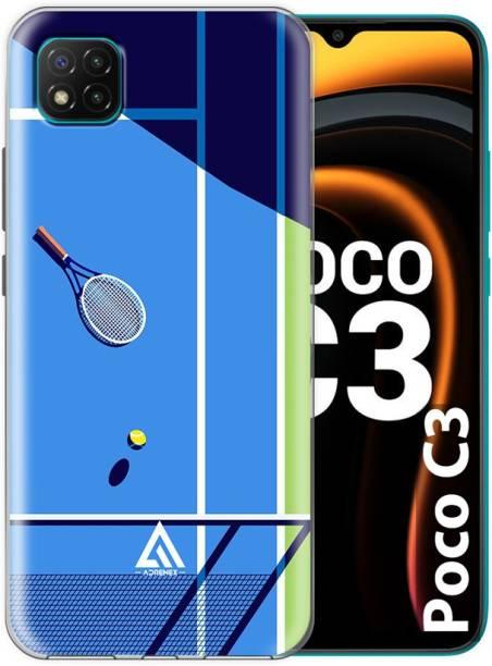 ADRENEX Back Cover for POCO C3