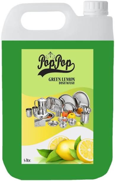 POPPOP green lemon dishwah Dishwash Bar