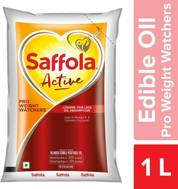 Saffola Active Pro Weight Watchers Blended Oil Pouch