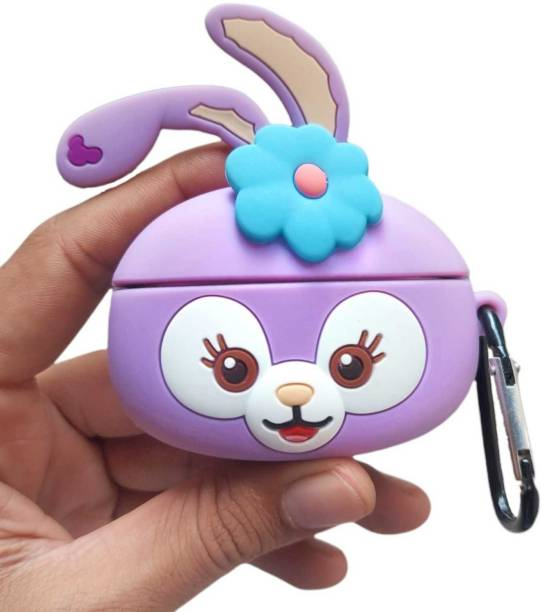 Telca Pouch for Apple AirPods Pro , Soft Silicon Cute Rabbit Case With Ring Airpods Pro Case Cover
