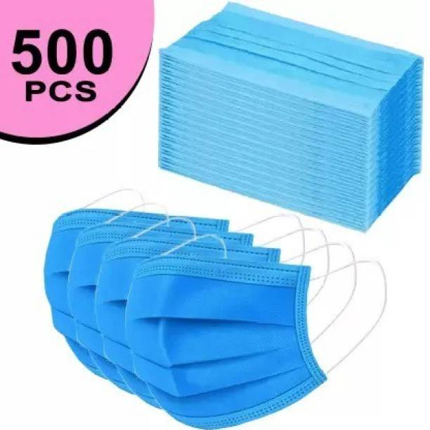 RRHR SALES Units Disposable 3 Ply Pharmaceutical Breathable Surgical Pollution Face Mask with 3 Layer Filtration For Men, Women, Kids with Nose pin for Comfortable Fit with Bacterial Filtration and Water Resistant Surgical Mask-100. 100 Pcs. 3 Ply Mask With Nose Pin, Unbreakable Ear loops (Ultrasonically Welded) & Ultra Soft Ear loops (which does not hurt ears) 3 Layer Pharmaceutical Breathable Surgical Pollution Face Mask For Men, Women, Kids 3 Layer Pharmaceutical mask 100 Pcs. Surgical Mask Surgical Mask With Melt Blown Fabric Layer