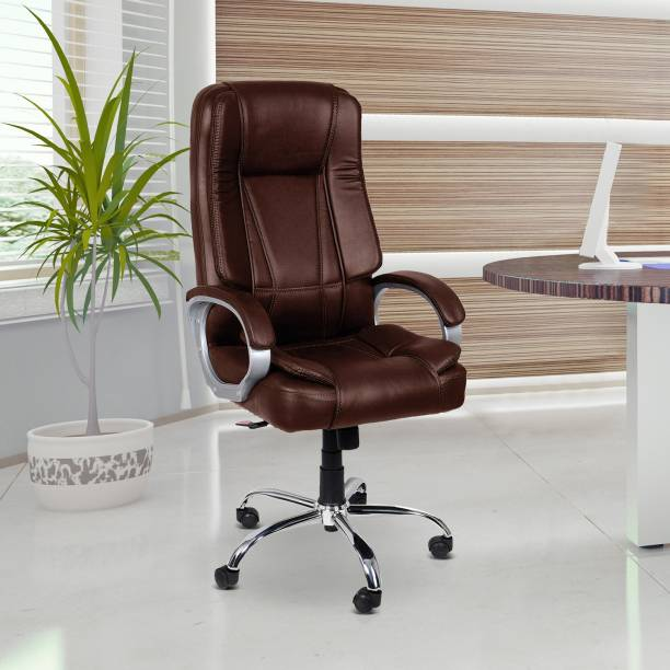 Flipkart Perfect Homes Leatherette Office Executive Chair