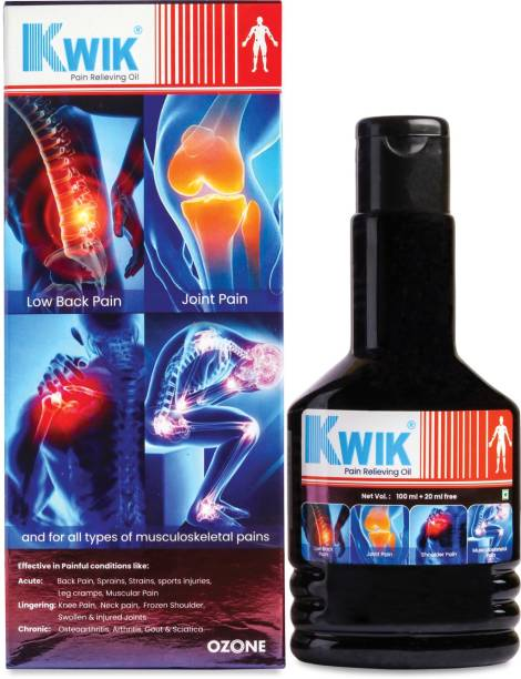 Kwik Pain Relieving Oil for Joint Pain Liquid