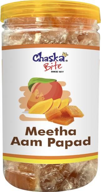 CHASKA BITE Aam Papad   Mango Candy   500 gm Mango Candy Bar Mango Candy Bar