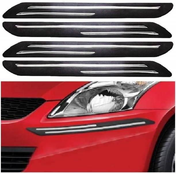 CARZEX Stainless Steel, Microfibre Car Bumper Guard