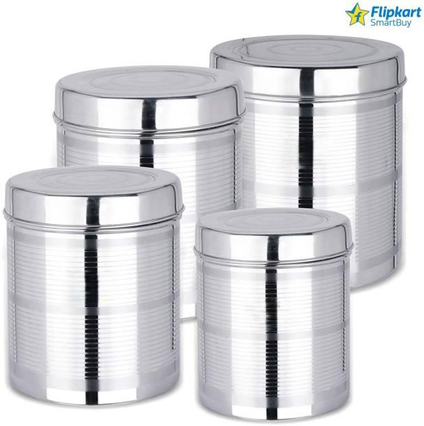 Flipkart SmartBuy  - 3200 ml, 4000 ml, 5000 ml, 6000 ml Steel Grocery Container