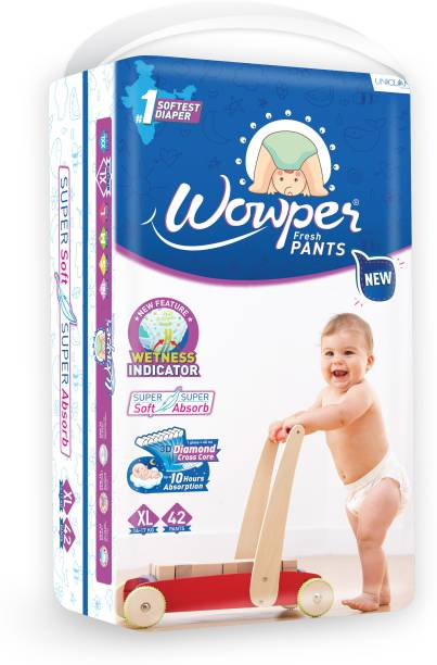 wowper Fresh Pants New – Extra Large 42 Pieces - XL