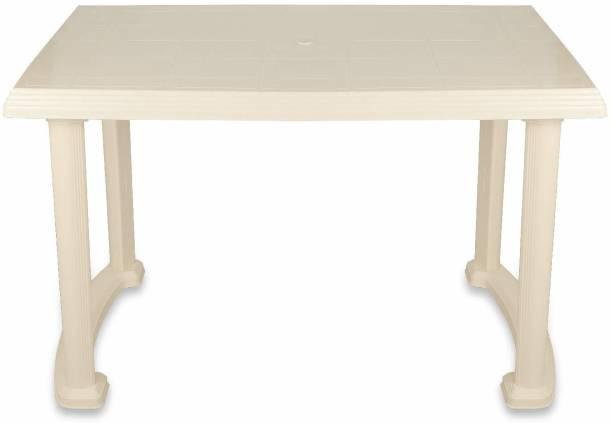 SUNBEAM Plastic 4 Seater Dining Table