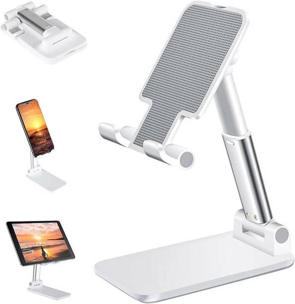 Casewilla Foldable Mobile Stand Holder Angle & Height Adjustable Desk Mobile Holder