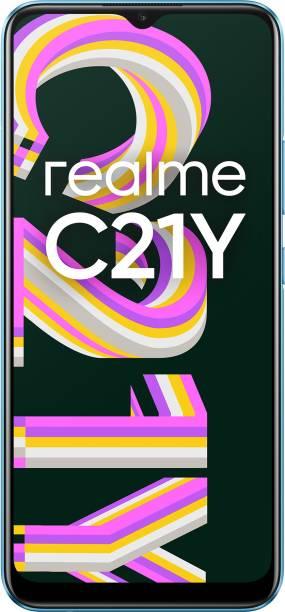 realme C21Y (Cross Blue, 32 GB)
