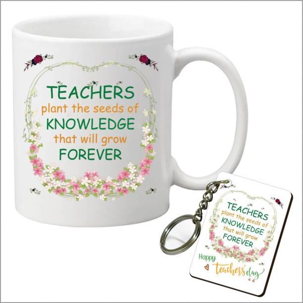 Picrazee Mug, Keychain Gift Set