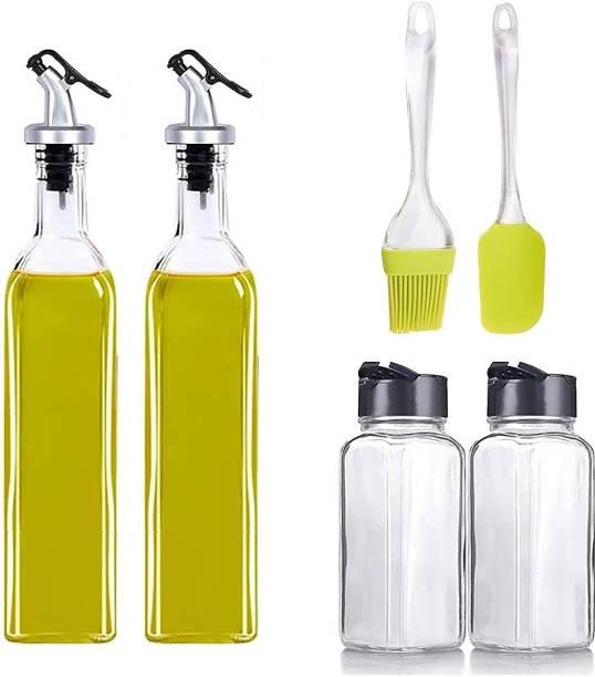 STARKENDY 500 ml, 500 ml, 120 ml, 120 ml Cooking Oil Dispenser Set