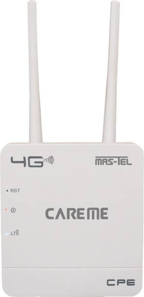 CareME CPE MT-300H 300Mbps Wireless 4G LTE, Wi-Fi 300H, Plug and Play, Parental Controls, Guest Network, with Nano SIM Card Slot, WiFi Router 300 Mbps 4G Router