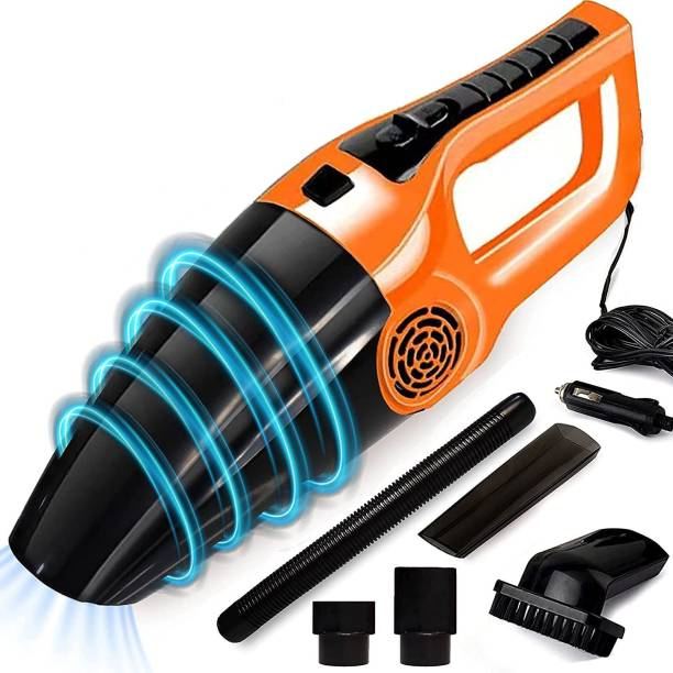 ANIRUDHA 12V High Power Wet & Dry Portable Handheld Car Vacuum Cleaner Car Vacuum Cleaner with Anti-Bacterial Cleaning, 2 in 1 Mopping and Vacuum, Anti-Bacterial Cleaning, Reusable Dust Bag(Black) Car Vacuum Cleaner with 2 in 1 Mopping and Vacuum Car Vacuum Cleaner with 2 in 1 Mopping and Vacuum