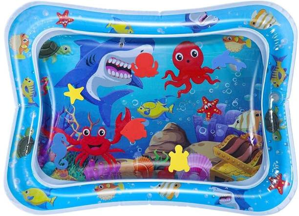 VikriDa Water Play Mat Toys, Fun Activity Play Center Indoor and Outdoor Water Play Mat for Baby. Standard Play Mat