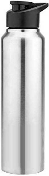 Flipkart SmartBuy Single Walled Stainless Steel Fridge Water Bottle for Home Office School Kids 1000 ml Bottle