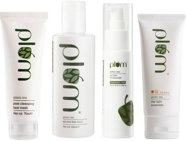 Plum Green Tea Day-Time CTM | With Sunscreen Gel SPF 35 PA +++ | 100% Vegan