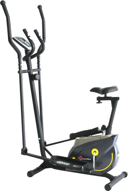 Powermax Fitness EH-250S Elliptical Cross Trainer with 6KG Flywheel & Hand Pulse For Home Workout Cross Trainer