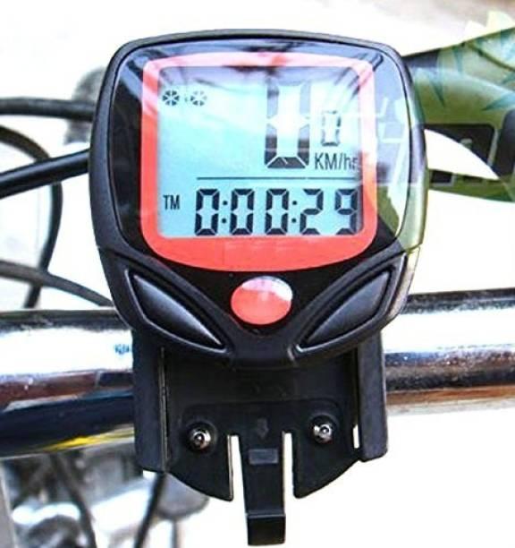 TrustShip ™ Bicycle Computer Odometer Speedometer Digital LCD Display Wired Cyclocomputer