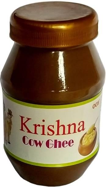 OCB Krishna Cow Ghee Grass-fed, Cultured Ghee 250 g Plastic Bottle