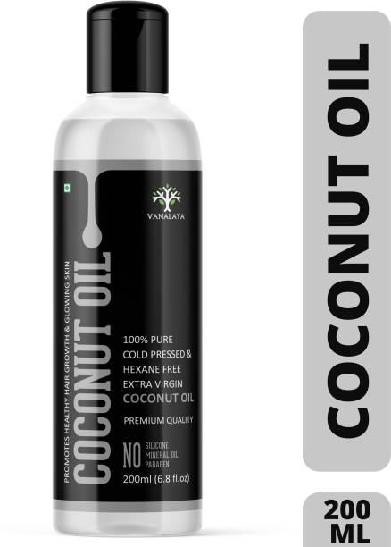 Vanalaya Pure Cold Pressed Virgin Coconut Oil For Hair, Skin Care & Cooking Coconut Oil PET Bottle