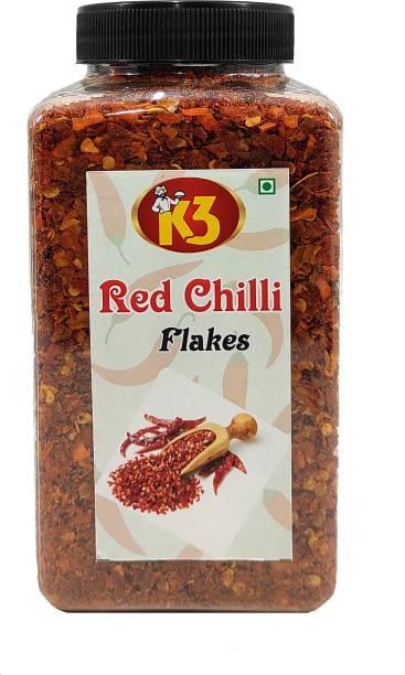 K3 Masala Red Chilli Flakes (250gm)