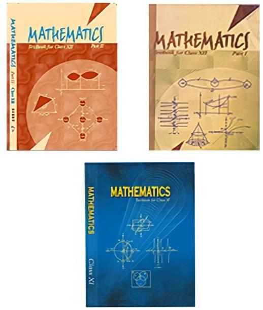NCERT Mathematics Textbook Part 1 & Part 2 Class 11th & 12th