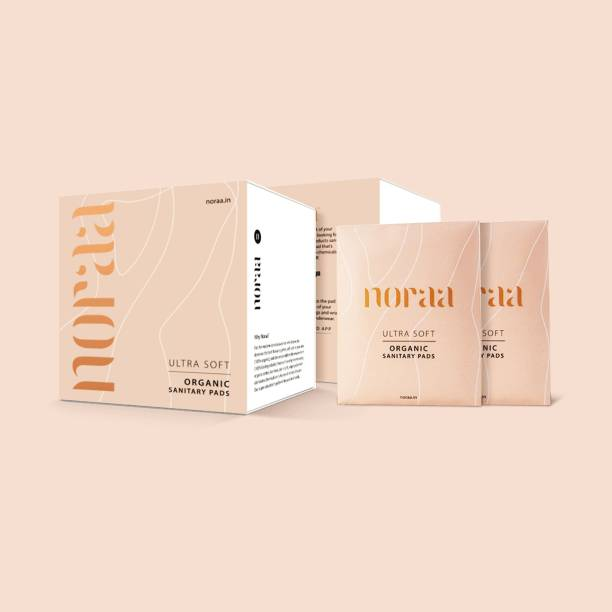 Noraa Ultra Soft 100% Organic & Biodegradable Sanitary Pads - 1 Pack Sanitary Pad