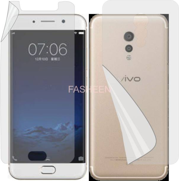 Fasheen Front and Back Screen Guard for VIVO XPLAY 6 (Edge To Edge Full Coverage TPU)