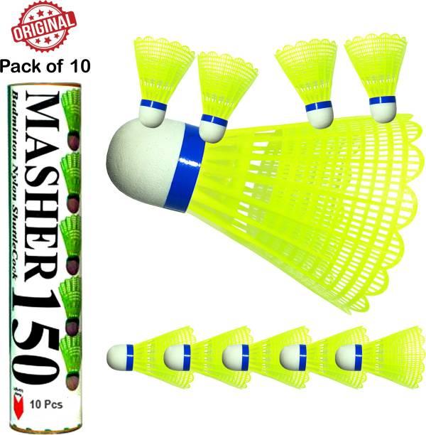 RRTraders Plastic Shuttlecock Green Plastic Shuttle  - Green