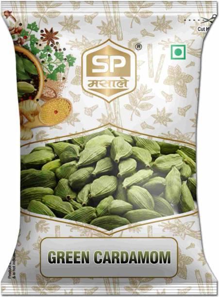 SP Green Cardamom Whole / Hari Elaichi / Choti Elaichi 50 gm