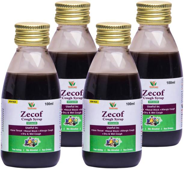 vaddmaan Pure Herbal & Natural Ayurvedic Cough Syrup 100ML