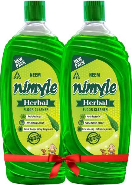 Nimyle Floor cleaner with Power of Neem 975ml x2 Pleasant