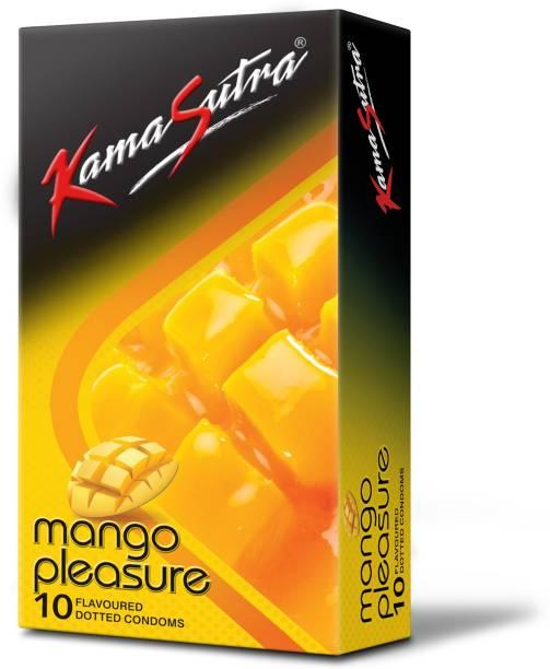 Kamasutra Mango Pleasure Flavoured Condoms Condom