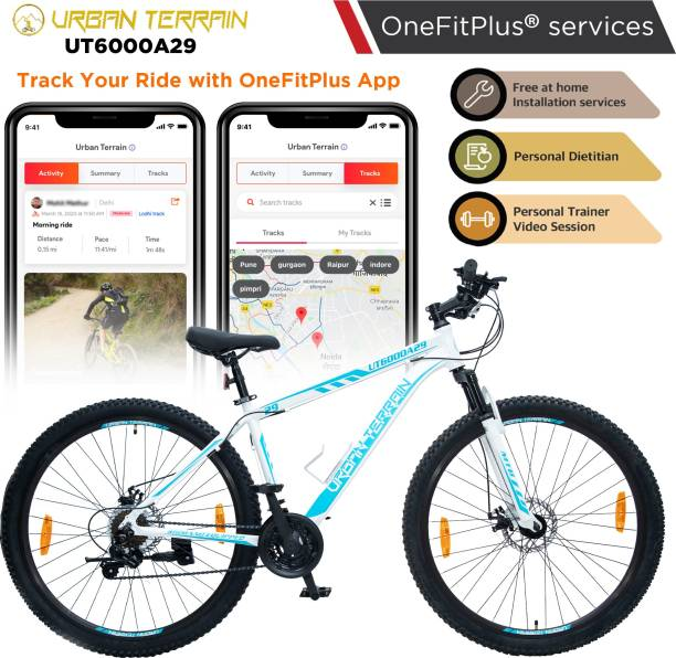 Urban Terrain UT6000A29 Alloy MTB with 21 Shimano Gear and Installation services 29 T Mountain/Hardtail Cycle