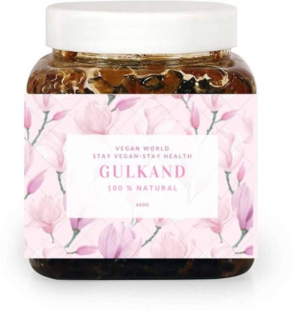 Vegan World Gulkand | Rose Petals jam 400 g