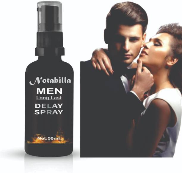 Notabilla DELAY Spray For Long Last, More Satisfaction For Men, Best Non-Transferable,Endure Long Last Delay Spray for Men | Safe & No side effects Lubricant