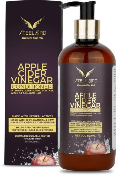 Steelbird Hair Care Apple Cider Vinegar Conditioner No Parabens & Sulphate, 300ML