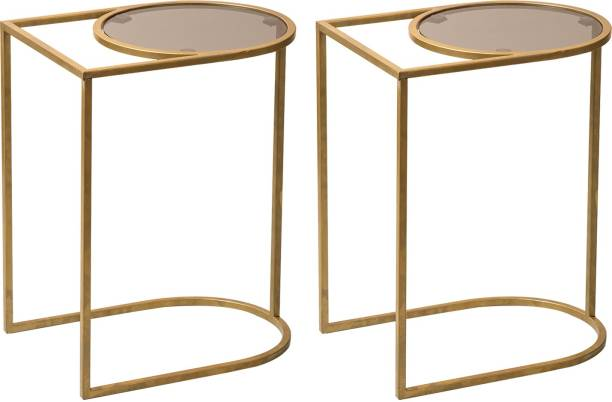 nestroots Metal Side Table