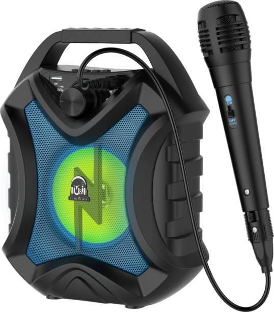 U&I Talk Series Wireless Speaker with Karaoke mic, Volume Control and 6 hours Battery Backup 5 W Bluetooth Speaker