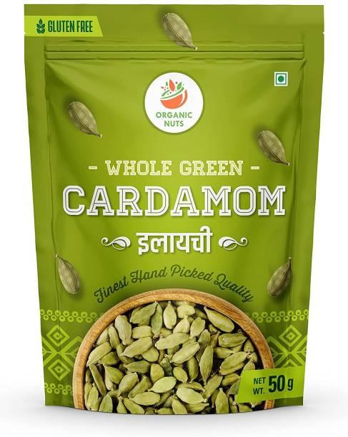 GreenFinity Cardamom Green Whole | Grade - Big Size, Sabut Choti Elaichi