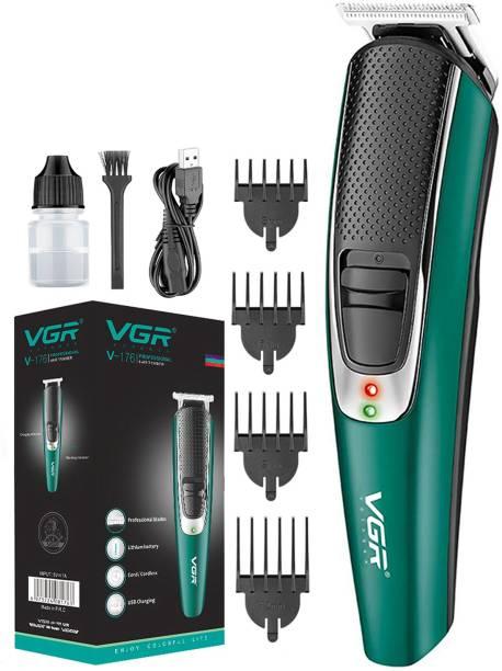 VGR V-176 Professional Hair Trimmer  Runtime: 120 min Trimmer for Men