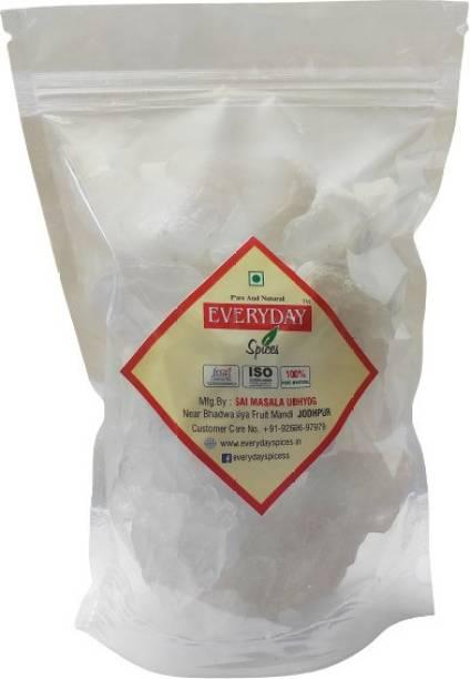 Everyday Spices Alum Stone, Fitkari Stone -500gm, Phitkari, White Crystak Stones, Fitkari