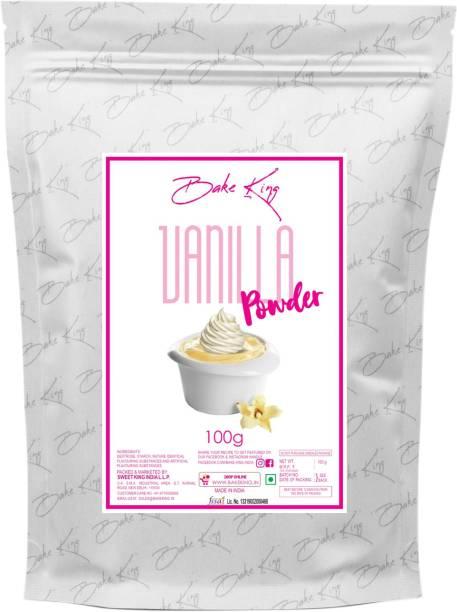 Bake King 100gm Vanilla Powder for Cake and Vanilla Ice Cream Powder for Bakery Custard Powder